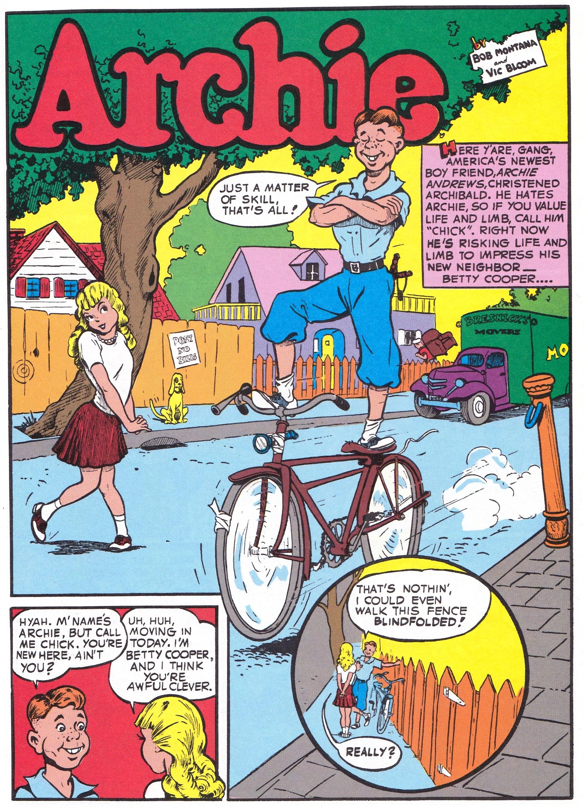 Archie Andrews 75th Birthday Metafilter